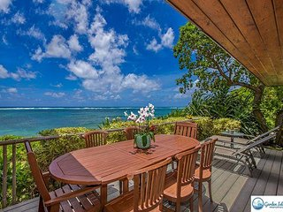 Niulani Oceanfront Beach House, Walk to Kapaa Town, SPRING STAY SPECIALS! - Kapaa vacation rentals