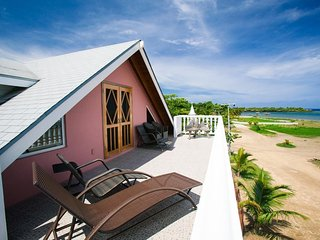 Beach Front Home, 4 Bed/4 Bath/King Bed Loft for Diving, Snorkeling and Relaxing - Sandy Bay vacation rentals