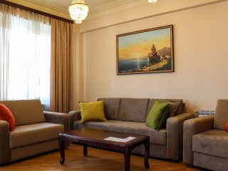 Luxury 2BR Apartment with 2 Balconies by Kantar - Yerevan vacation rentals
