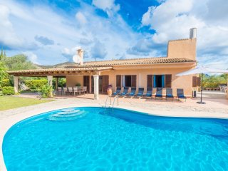 CAN ESCANDEU - Villa for 9 people in Pollença - Pollenca vacation rentals