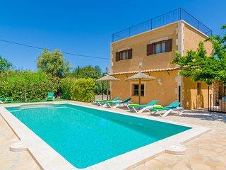COVA DE ROTANA - Villa for 6 people in Manacor - Petra vacation rentals