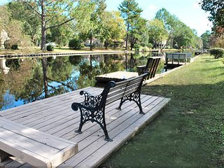 the WACKY TURTLE is in a Waterway & Golfing Community - New Bern vacation rentals