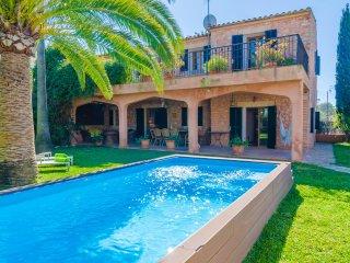 NA CARMETA - nice villa in Es Llombards for 8 people - Es Llombards vacation rentals