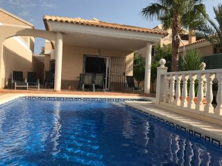 Cosy 3 bed villa with own pool, backing on to mountains and 2 mins from beach! - San Juan de los Terreros vacation rentals