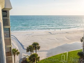 Morgan Properties - Crescent Arms #703N - Updated 2 bed / 2 bath Gulf view - Siesta Key vacation rentals
