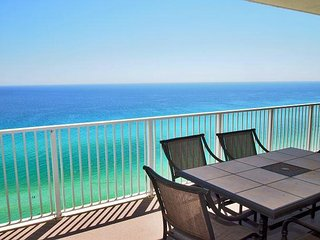Fun, Fabulous, Beach Getaway at Tropic Winds, Free Beach Service! XL Balcony! - Panama City Beach vacation rentals