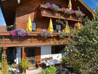 Atelierwohnung in vollbiolog.(Holz)-Landhaus, ruhige Lage mit Bergblick - Traunstein vacation rentals
