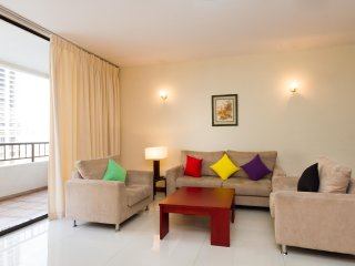 Comfortable 2 room apartment with stunning city and sea view in Colombo - Colombo vacation rentals