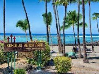 Kahalu'u Tiki Hale- Stunning new custom home on the most popular snorkel beach! - Keauhou vacation rentals