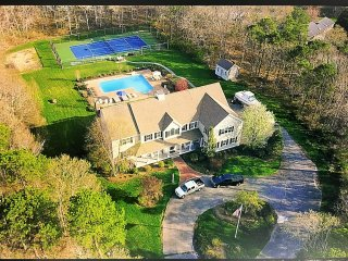 Incredible 4 Acre Estate Pool Home, Lighted Tennis Court, Numerous Amenities! - West Barnstable vacation rentals