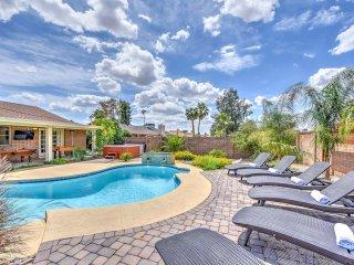 New! 'Paradise Estate' 5BR Phoenix Home w/ Pool! - Cave Creek vacation rentals