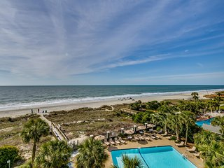 Large Oceanfront Two Bedroom Two Bath Condo at Carolina Dunes! (4th Floor) - Myrtle Beach vacation rentals