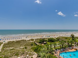 Large Oceanfront Three Bedroom Two Bath Condo at Carolina Dunes! (5th Floor) - Myrtle Beach vacation rentals