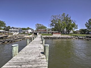 New! Waterfront 5BR Stevensville House w/ Pier! - Stevensville vacation rentals