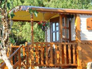 Roulotte de charme avec piscine proche île d'oléron - La Gripperie-Saint-Symphorien vacation rentals