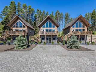 Three chalets w/ beautiful mountain views, 1 mile from Glacier National Park! - West Glacier vacation rentals
