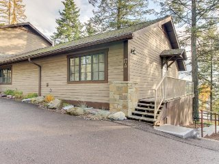 Dog-friendly lakeview condo with shared pool & hot tub - near parks! - Whitefish vacation rentals