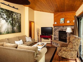 Gorgeous lake-view condo with shared pool/hot tub, walk to town! - Whitefish vacation rentals