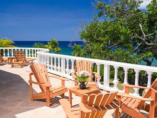 Spacious ocean front home perched on the point, spectacular seaviews and sunsets - Antoneys Cay vacation rentals