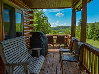 Log home with lake views with a boat slip, 5 minutes from Wisp! - Swanton vacation rentals
