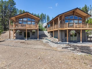 Two spacious chalets w/ beautiful mountain views, close to Glacier National Park - West Glacier vacation rentals