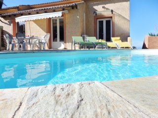 Bright apartment in Barbaggio, Haute-Corse, with swmming pool and stunning view - Barbaggio vacation rentals