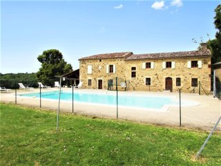 Spacious house in Soulaures w/pool - Gaugeac vacation rentals