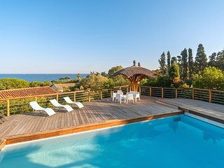 Spectacular view on the golf of Saint-Tropez ; Heated pool ; the Beach at 5 min. - Saint-Maxime vacation rentals