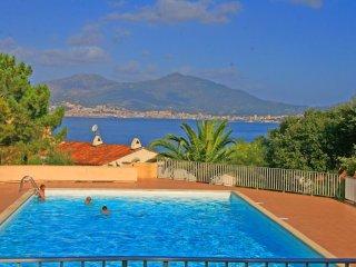 Corsican flat with pool, near beach - Porticcio vacation rentals