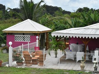 2 Bungalows-Villa, pool and hot tub - Gros-Morne vacation rentals