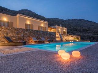 Syros beautiful sea view villa Blue Line with swimming pool - Finikas vacation rentals