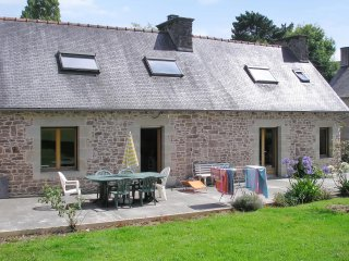 Beautiful stone house with garden - Allineuc vacation rentals