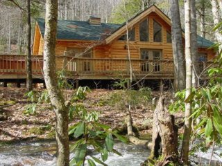 Mountain Paradise on Collett Creek, Andrews, NC. - Andrews vacation rentals
