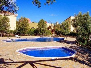 Beautiful villa in Almeria with 3 bedrooms, garden and shared pool - Almería vacation rentals