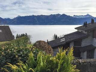 Idyllic flat with garden, lake view - Sarnen vacation rentals