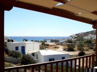 Sikinos 2-bedroom Family house with a rooftop terrace and splendid sea views! - Alopronia vacation rentals