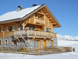 Chalet with 5 rooms in la toussuire, with wonderful mountain view - Fontcouverte-la-Toussuire vacation rentals