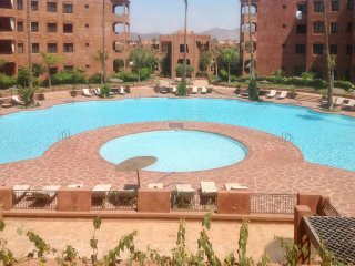 Apartment with balcony and 2 pools - Ouahat Sidi Brahim vacation rentals