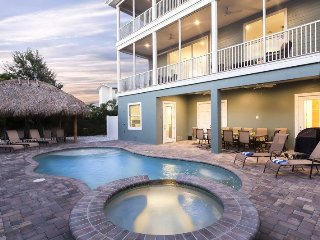 Grande Palermo is your Private Pier Area Palace - with Elevator, Tiki Hut and - Fort Myers Beach vacation rentals