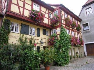 In der Altstadt von Rothenburg ob der Tauber wohnen und wohlfühlen! - Rothenburg ob der Tauber vacation rentals