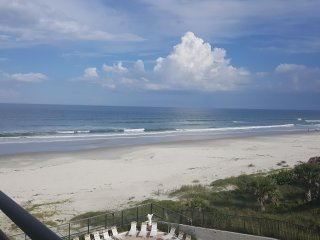 Large Oceanfront Condo on No-Drive Beach - Newly remodelled .. 2 BR & 2 Bath - Daytona Beach Shores vacation rentals