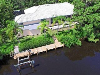 Spectacular Waterfront 3B/3B w/private 106' dock! - Placida vacation rentals