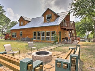 NEW! 4BR Eustace Cabin w/Deck & Serene Lake Views! - Coahoma vacation rentals