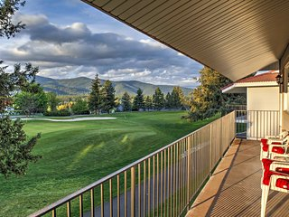 NEW! 2BR Blanchard Condo on Golf Course w/Mtn Views - Blanchard vacation rentals