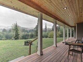 NEW! 5BR Forks Home w/Covered Patio & Scenic Views - Forks vacation rentals