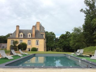 Spacious mansion with swimming-pool - Poligne vacation rentals