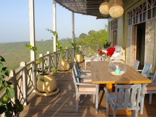 Cliff House at 'Arcadia' above Elephant Sanctuary - Kwale vacation rentals