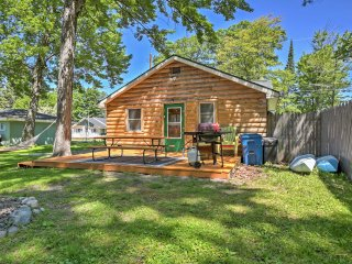 NEW! 2BR Houghton Lake Cabin w/ Community Dock! - Houghton Lake vacation rentals