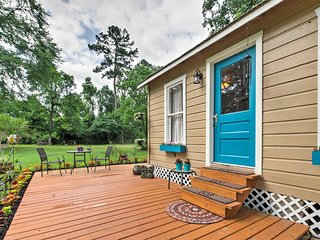 NEW! Lovely Spring Studio-Cabin w/Grilling Patio! - Spring vacation rentals