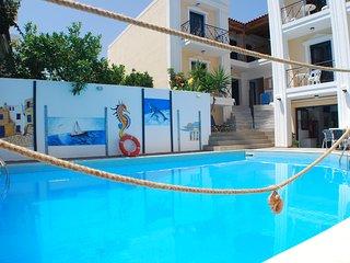 Renia Sea Apartment and Studios 5p #6 Apartment - Agia Pelagia vacation rentals
